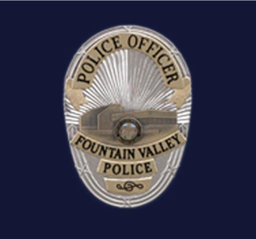 Fountain Valley Police Badge