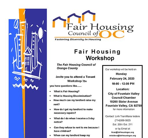 Fair Housing OC