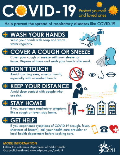 COVID 19 Infographic