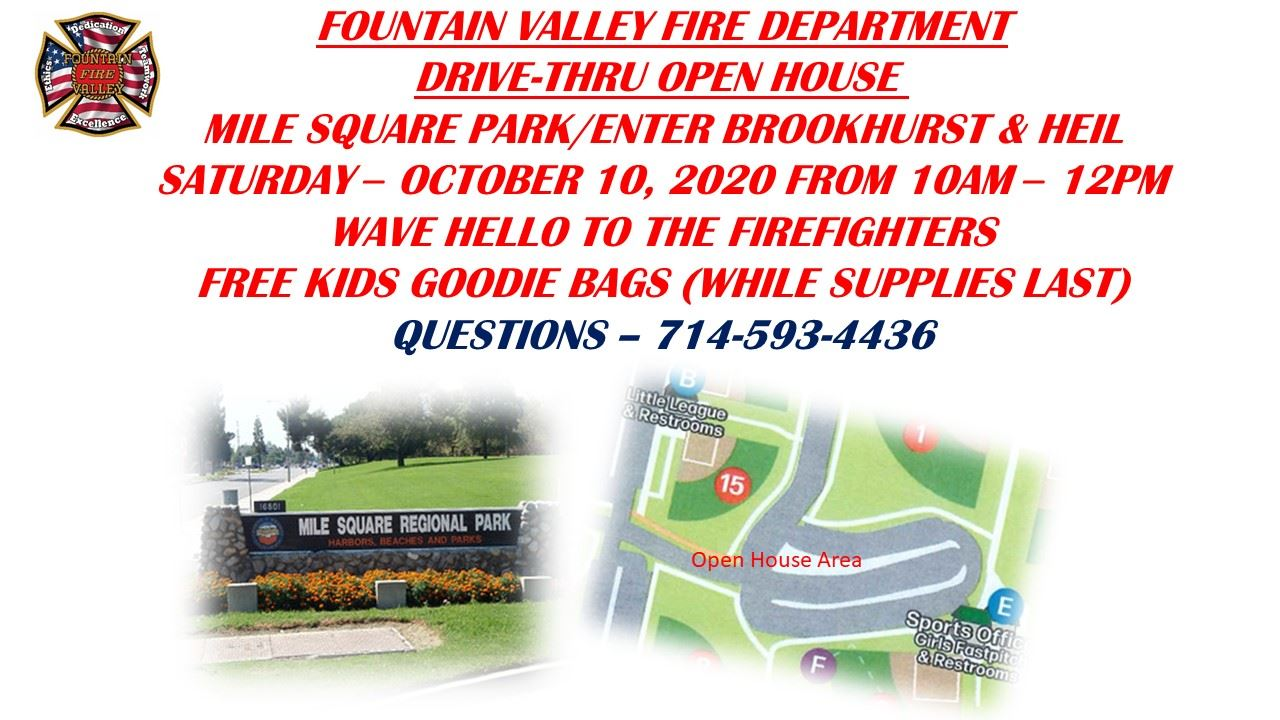 Fire Open House 2020