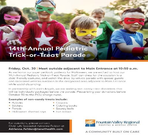 Fountain_Valley_Regional_Hospital-Pediatric_Parade-Flyer 10-30-2020b