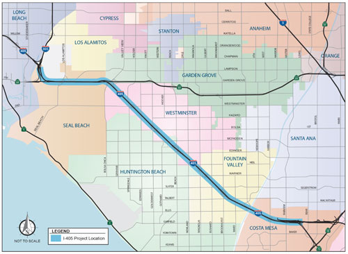 I-405 Improvement Project | Fountain Valley, CA - Official
