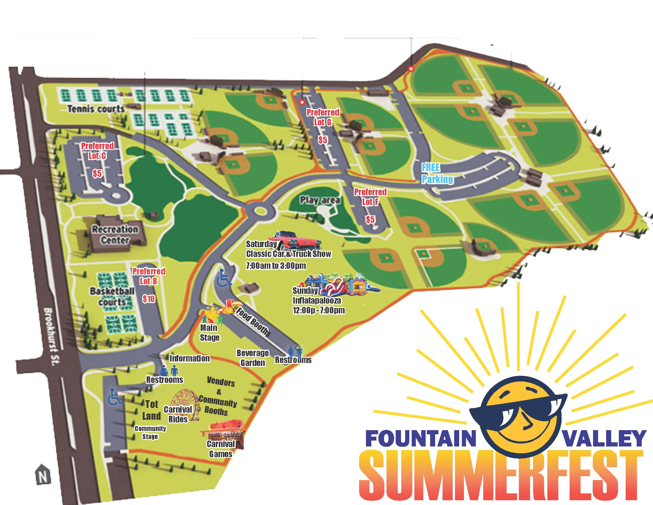 Summerfest Event Map