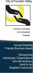 Disability Award Brochure