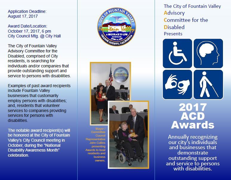 Advisory Committee for the Disabled