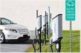 Electric vehicle charging spaces