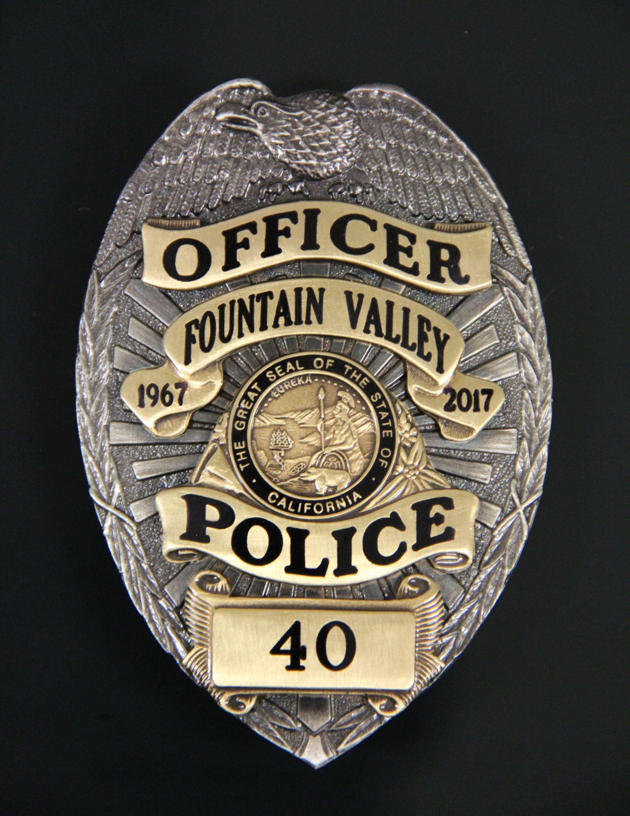 50th Anniversary Badge