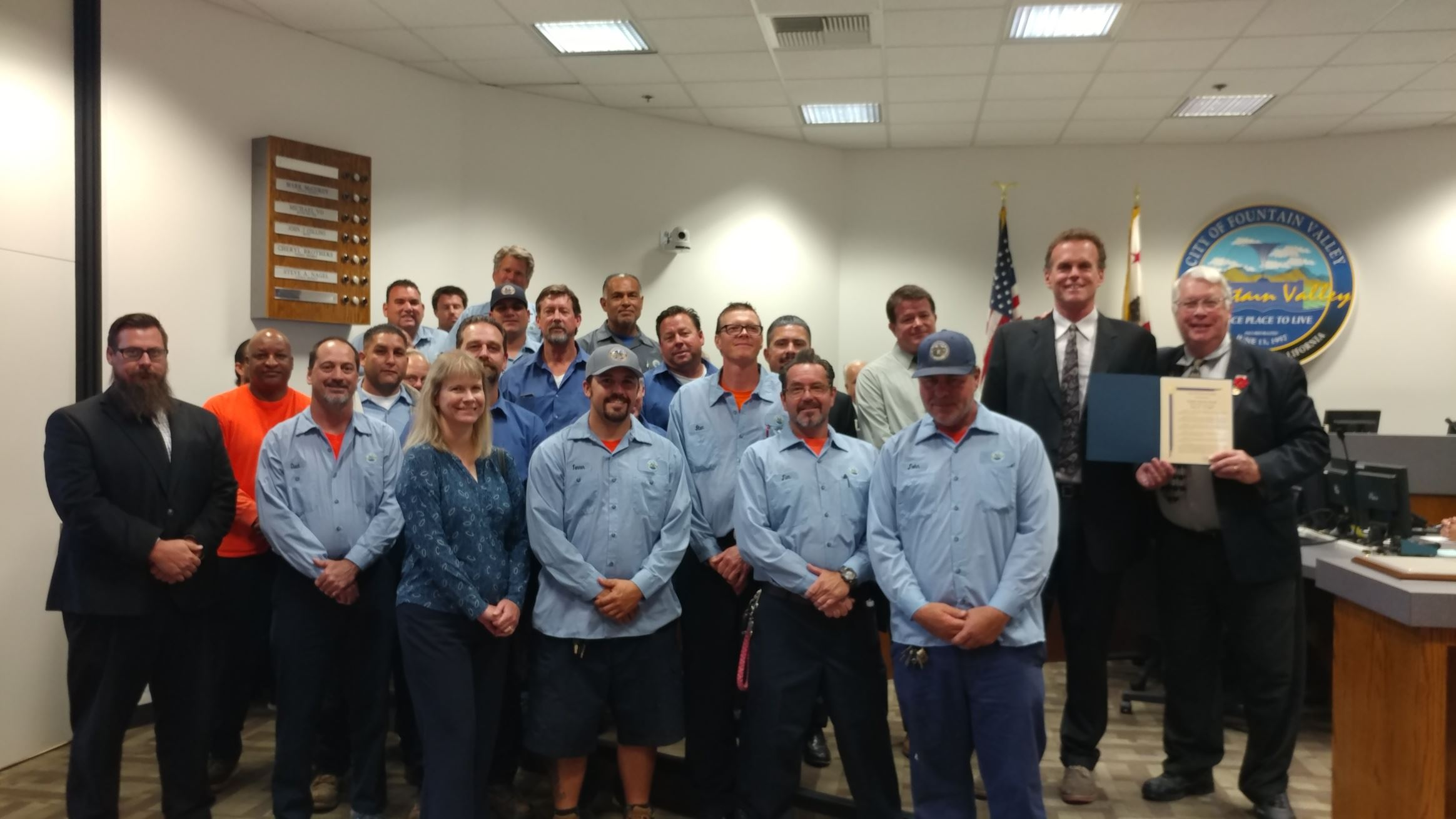 Proclamation Recognizing May 21-27 as Public Works Week