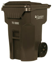 Brown Waste Bin