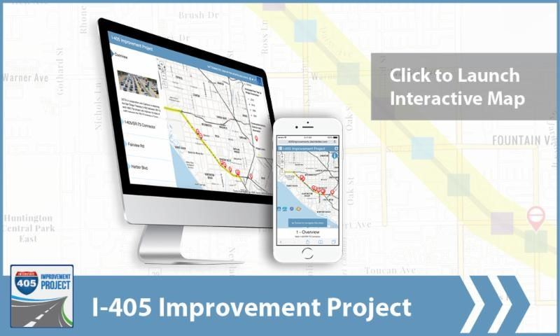 I-405 Interactive Map Pic