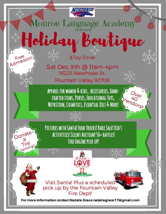 Picture of Holiday Boutique Flyer