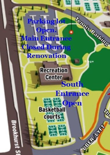 renovation parking map
