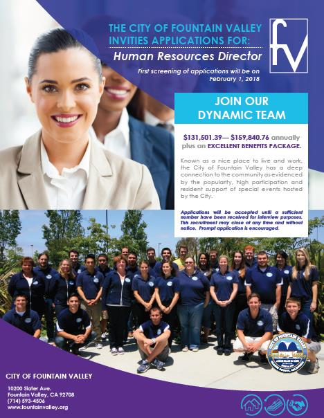 HR Director Recruitment Flyer