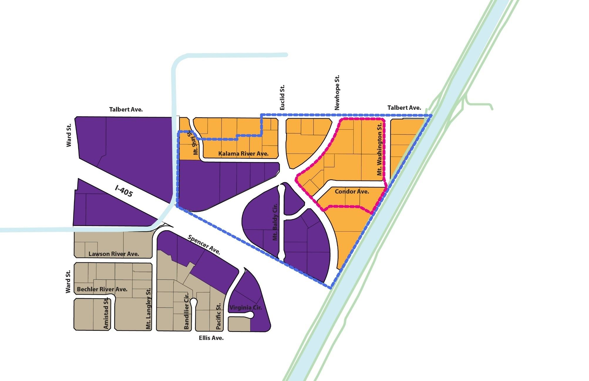 Crossings Land Use Map