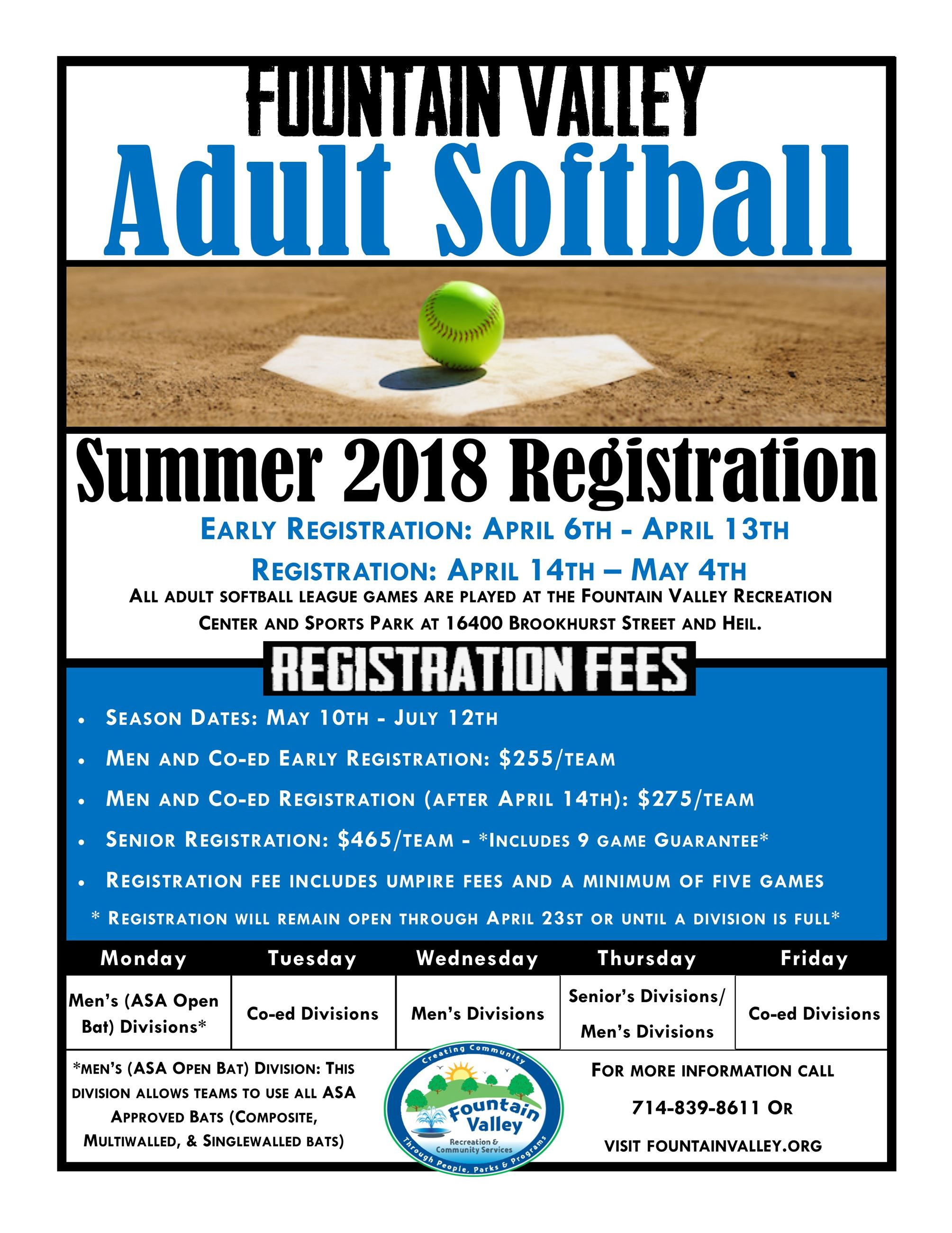 Softball Flyer Summer 2018-1