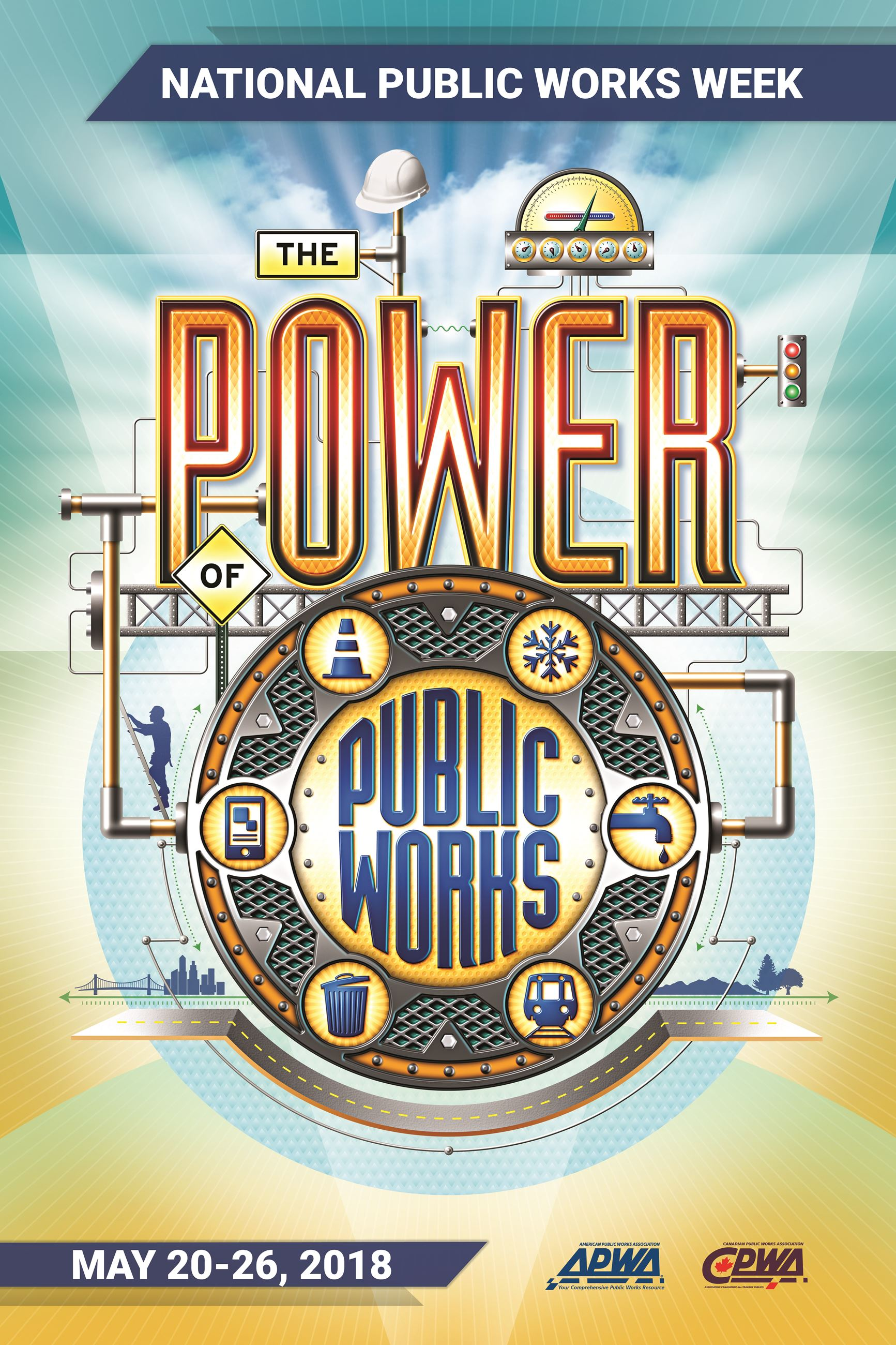 Power of Public Works Week Poster