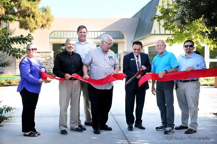 Recreation Center Remodel Ribbon Cutting