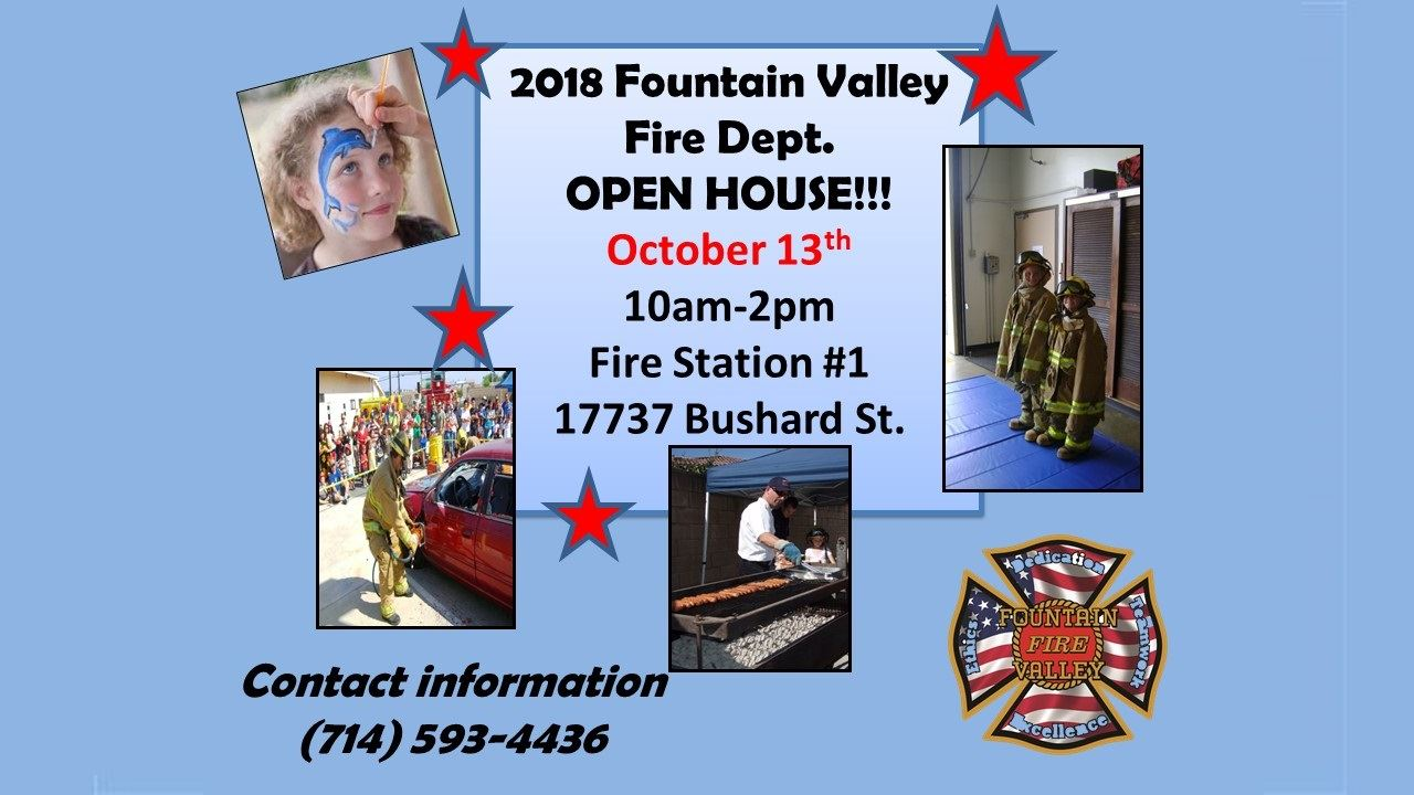 2018 Fire Open House - TV Slide