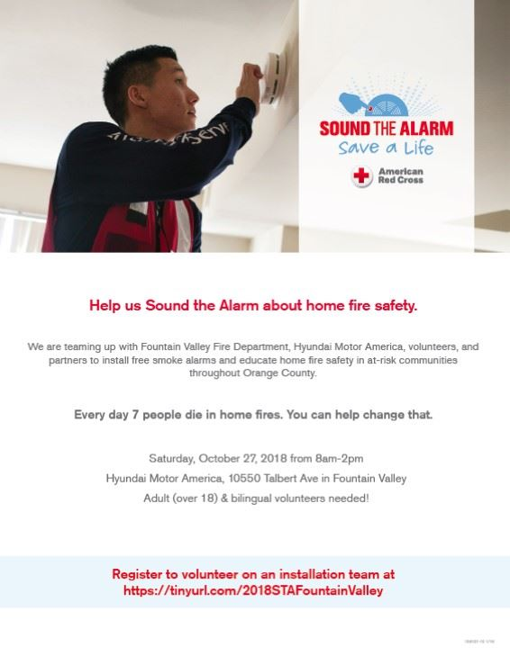 Volunteers for October 27_Smoke Alarms