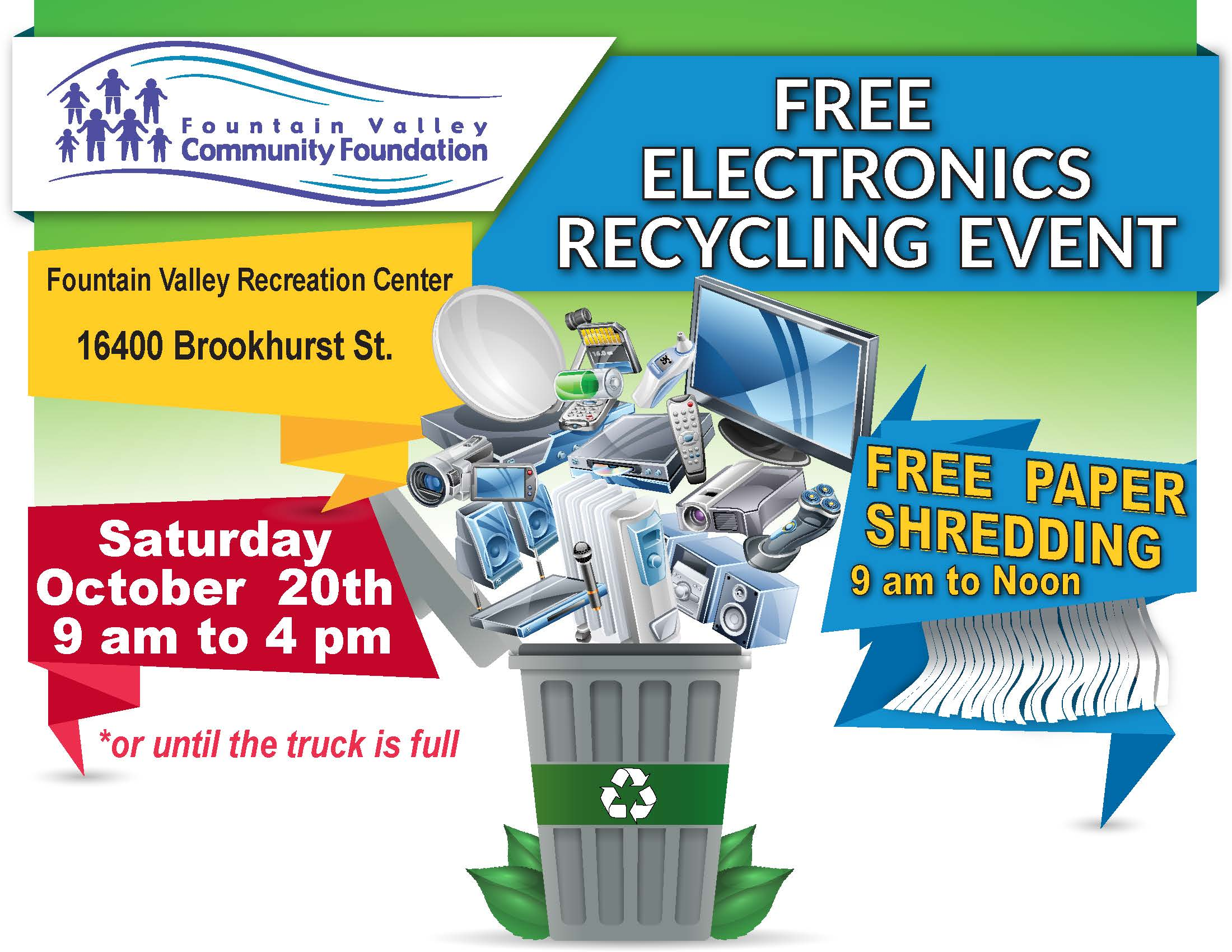 E-waste Recycling Event 102018