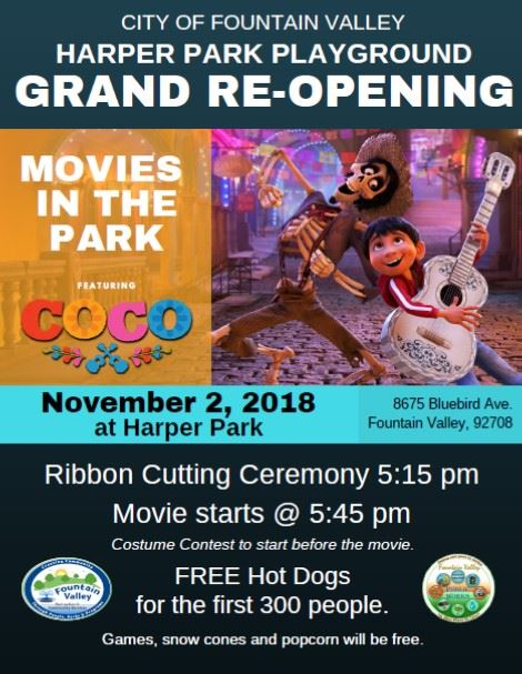 Harper Park Grand Re-Opening