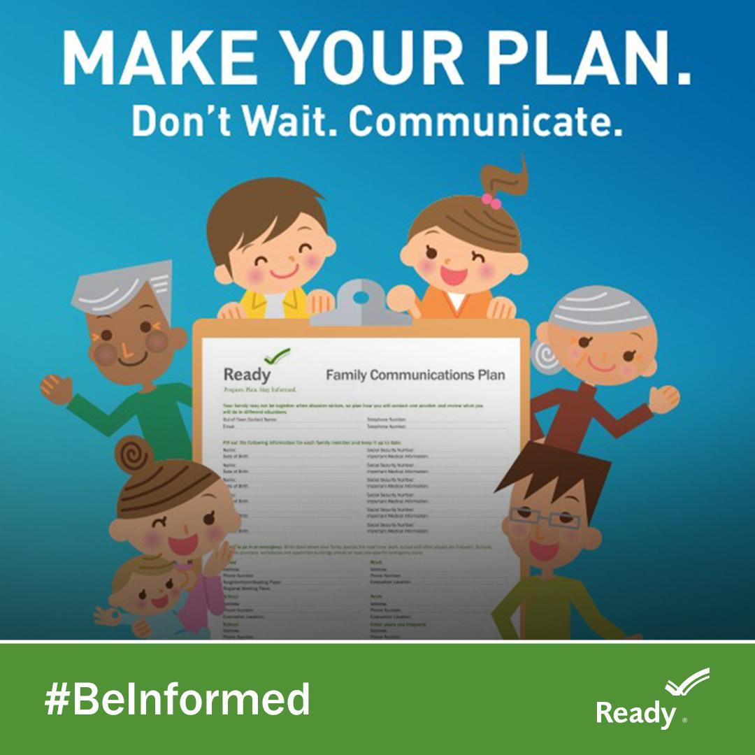 Family Communications Plan