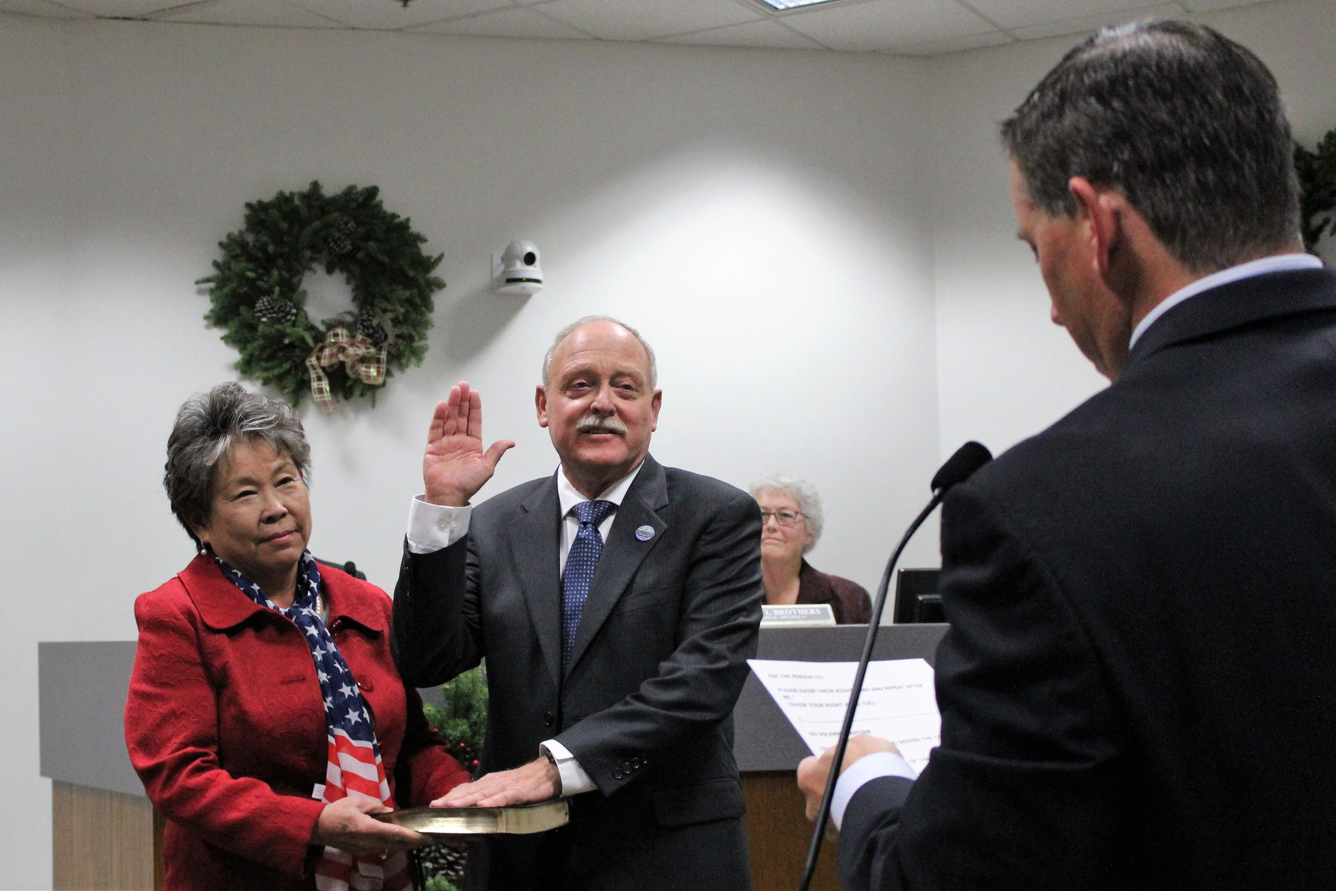 Mayor Steve Nagel Oath to Office (2018)