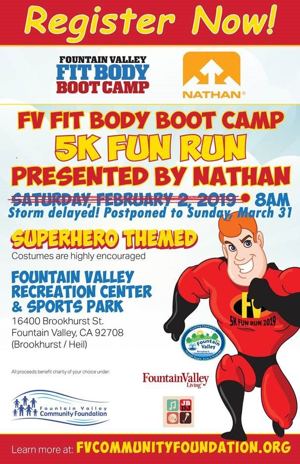 The Fit Body Boot Camp 5k  Run