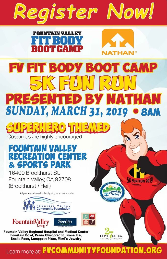 5K Flyer SAVE THE DATE  New