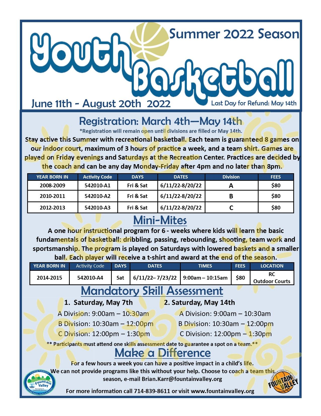 Winter Youth Basketball