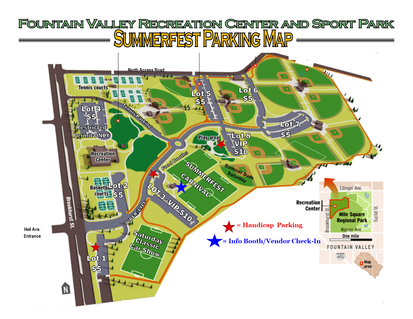 Summerfest Event Map | Fountain Valley, CA - Official Website on
