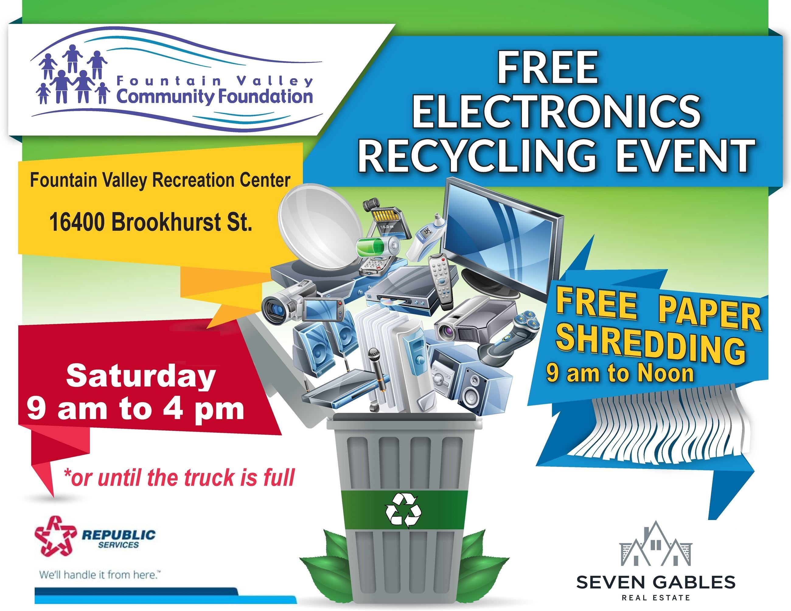 E-Waste and Shredding