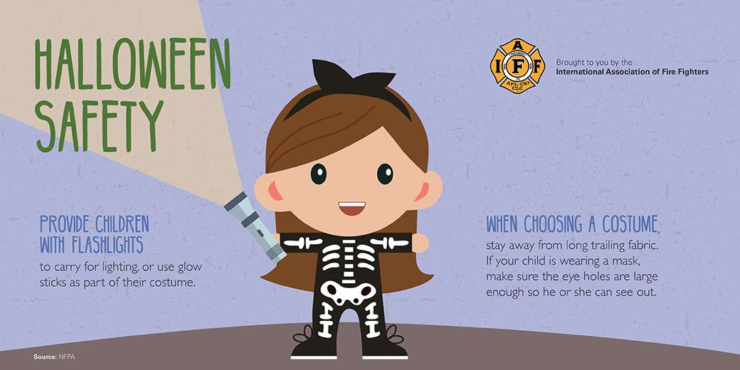 Halloween Safety Graphic