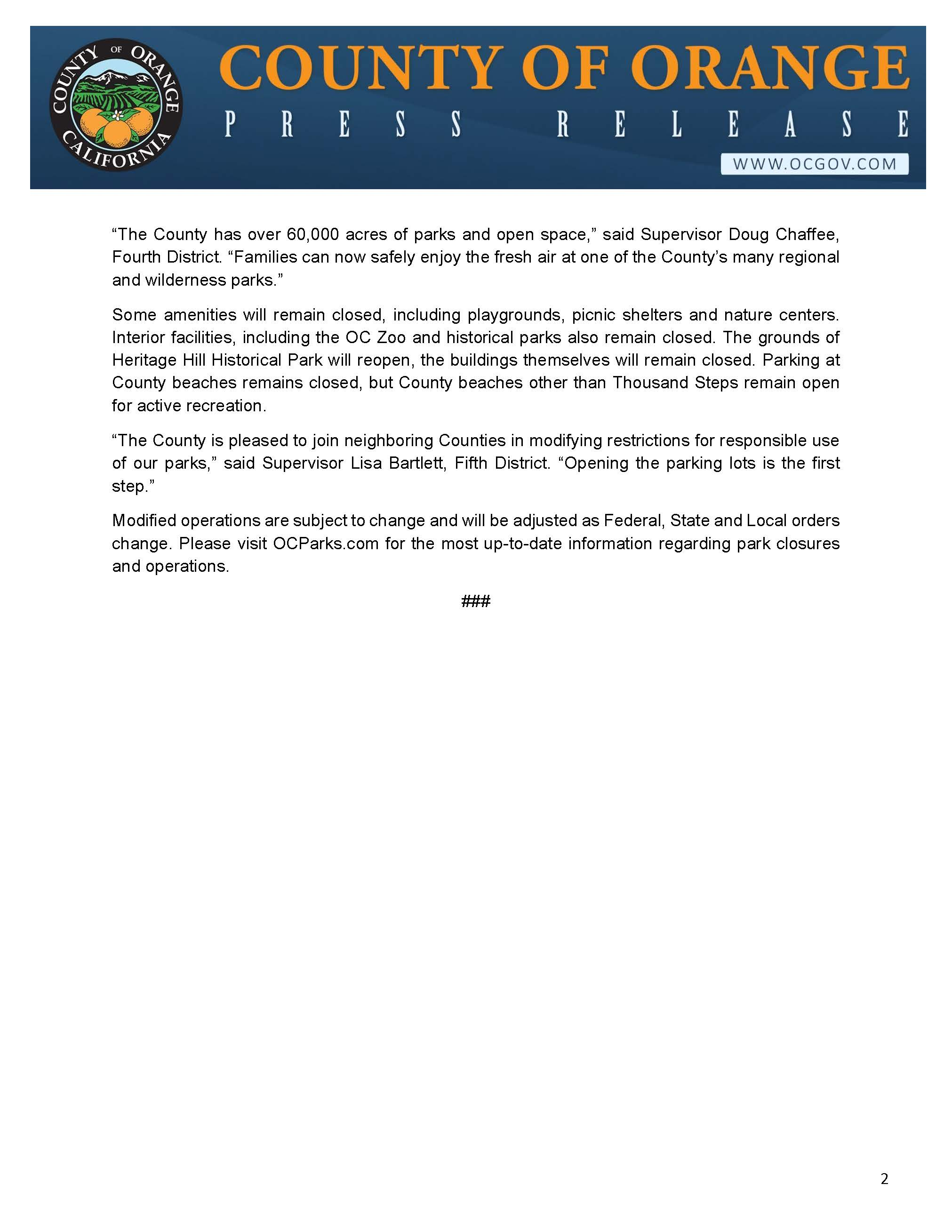 PRESS RELEASE_Parking at County Of Orange Regional and Wilderness Parks to Reopen May 16_Page_2