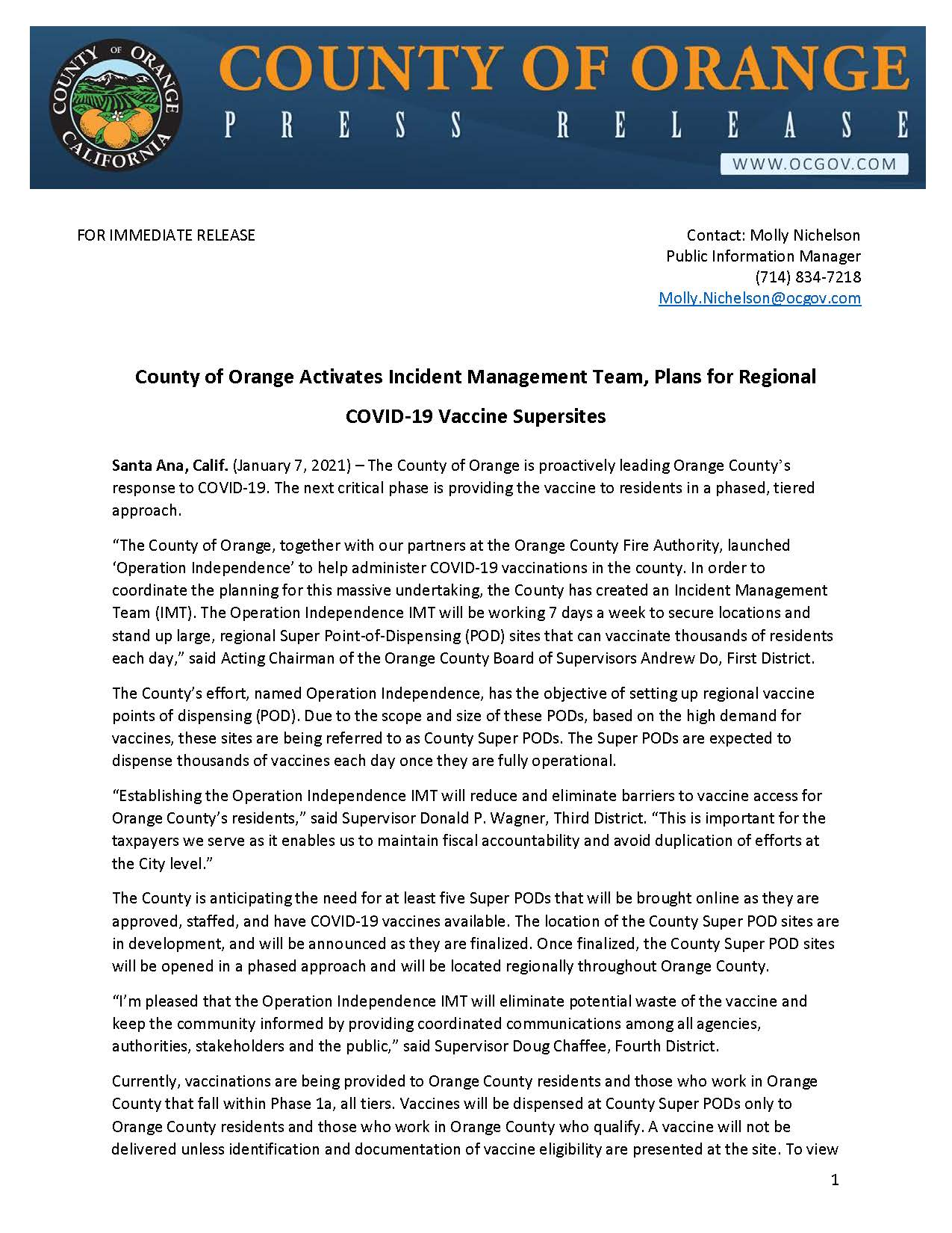 Press Release_County of Orange IMT and Super PODs 1-7-21_Page_1