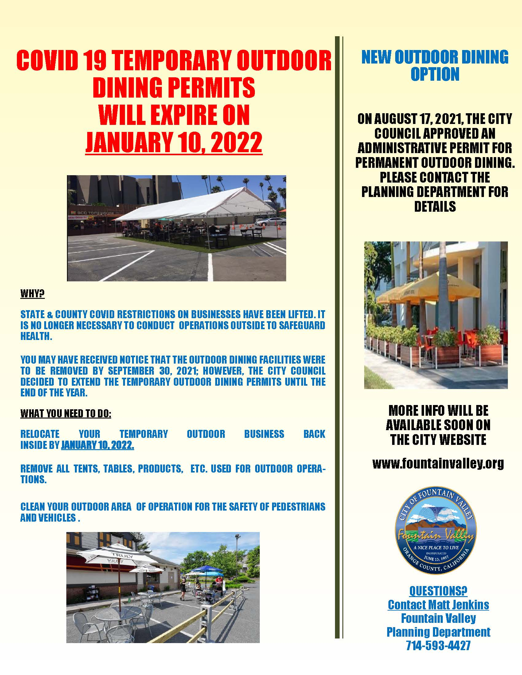 Flyer- Outdoor Dining 3