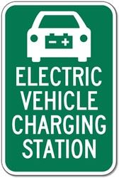 Picture of an EV Charging Sign
