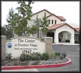 Front of Senior Center