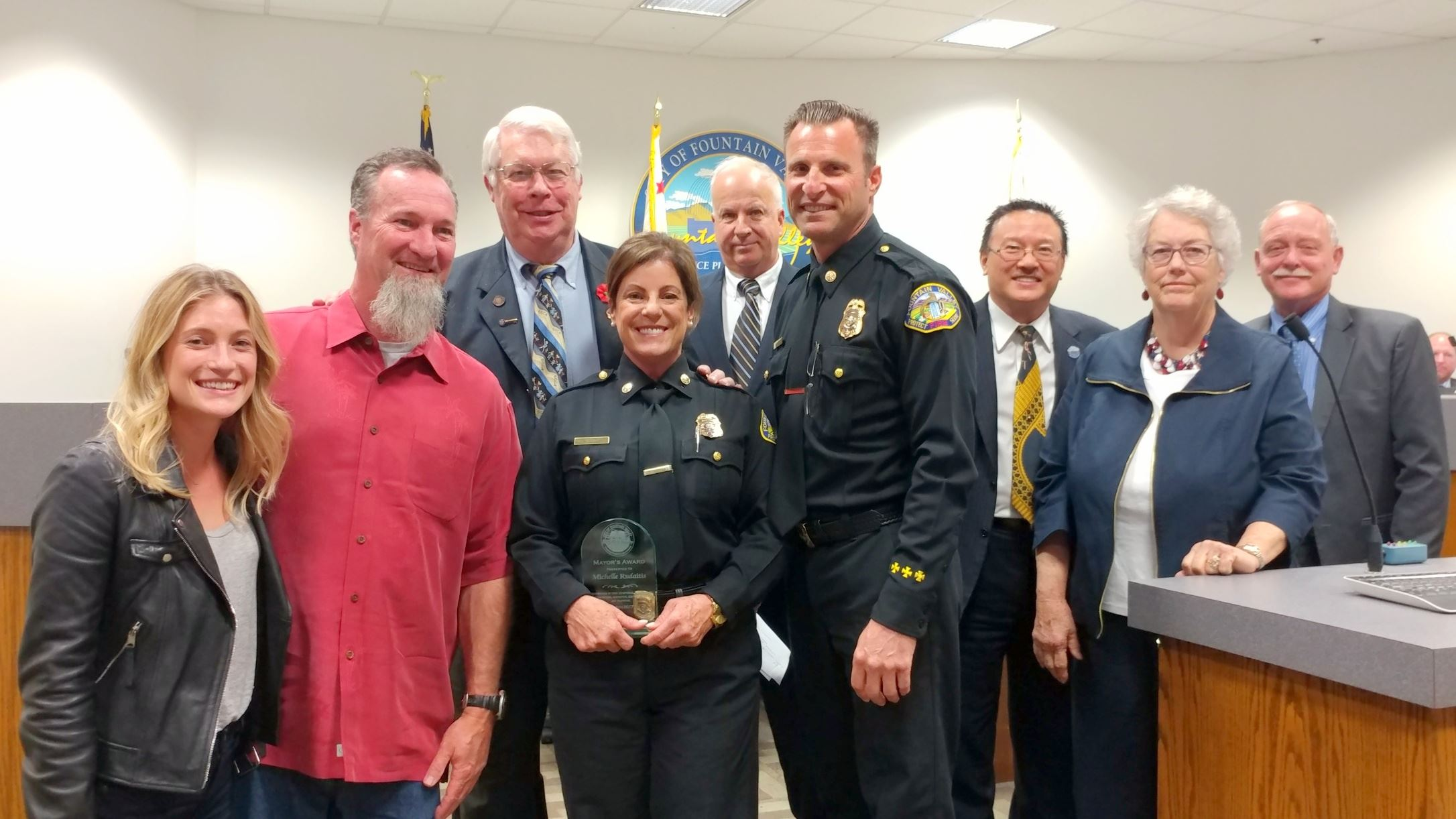 The Mayor's Award was created to recognize employees who have made exceptional contributions to the organization.