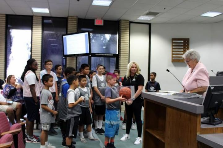 Boys and Girls Club Basketball Teams Certificates of Recognition