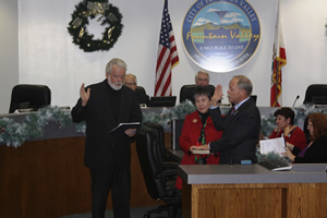 Council Member Steve Nagel Sworn In