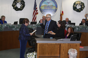 Mayor Mark McCurdy Sworn In