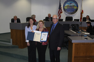 Assemblyman Honors City Pageant