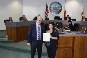 Mayor Honors Donate Life Ambassador