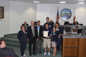 Mayor Recognizes Recreation and Community Services