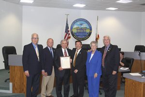 City Council Honors Retiring City Manager