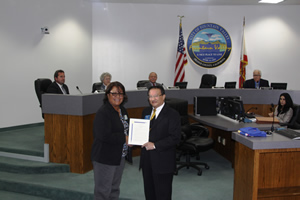 Mayor Vo Recognizes Donate Life Month