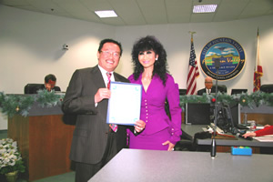 Mayor Vo Sworn In With Wife