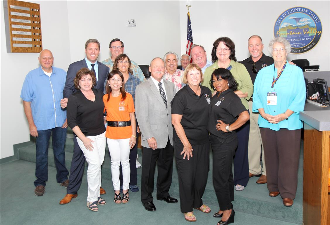 Special Olympics Host Town Committee recognition